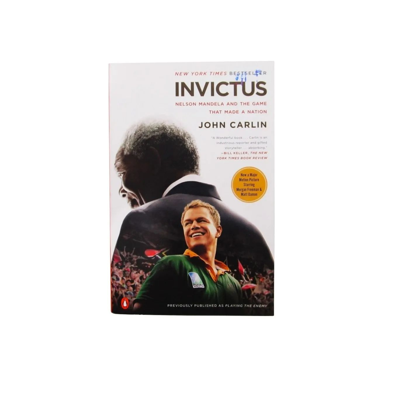 Livro Em Inglês - Invictus Nelson Mandela And The Game