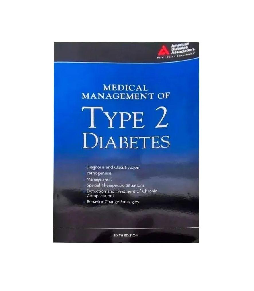 Livro Medical Management Of Type 2 Diabetes Em Inglês