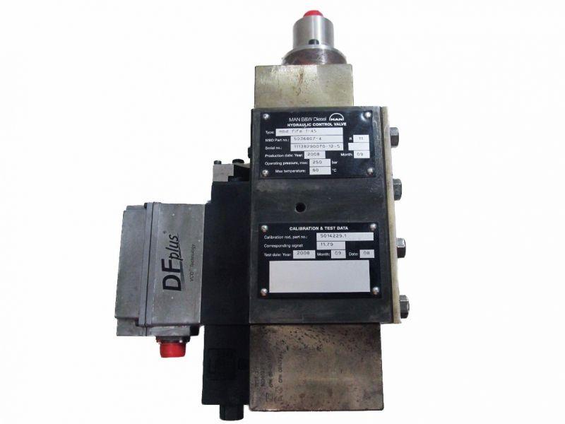 Válvula De Controle Hidráulico Man B&W Diesel Mbd Fifa 1-45