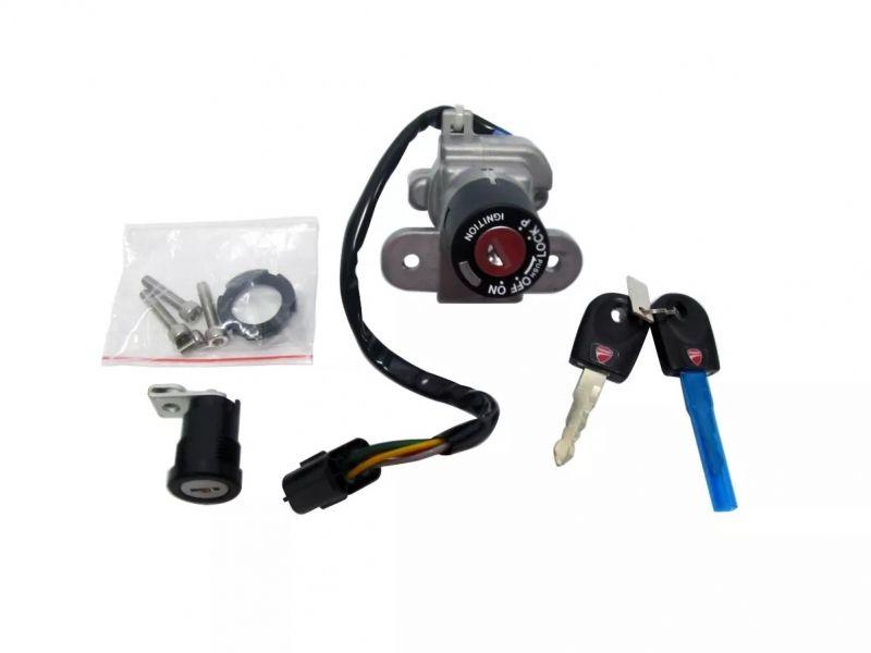 Interruptor de Ignição Principal C/ Chave Ducati 59820542a