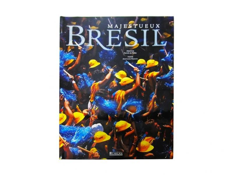 Livro Em Francês - Majestueux Brésil