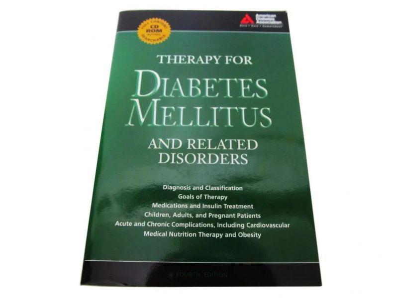 Livro Em Inglês - Therapy For Diabetes Mellitus