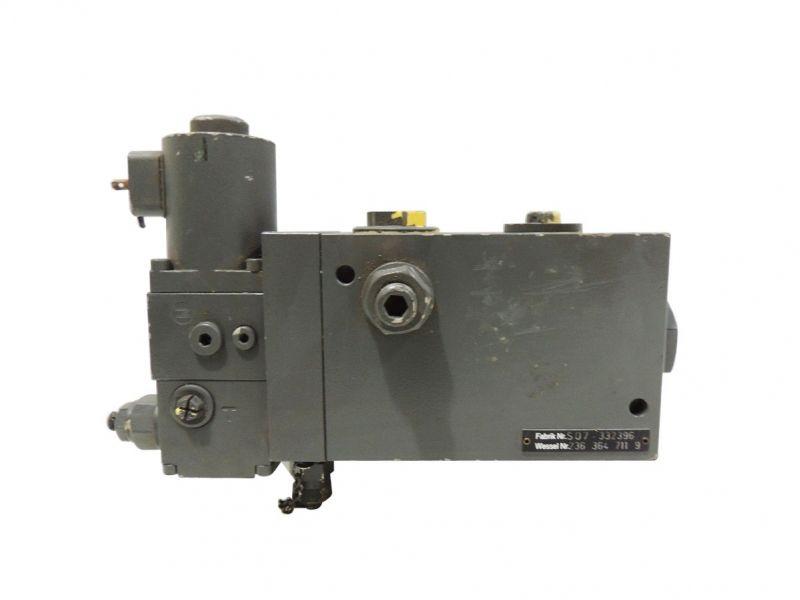 Válvula De Controle De Fluxo Wessel Hydraulik 236 364 711 9 (Produto Usado)